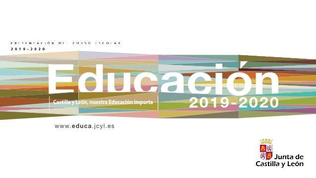 Presentación Curso Escolar 2019 2020