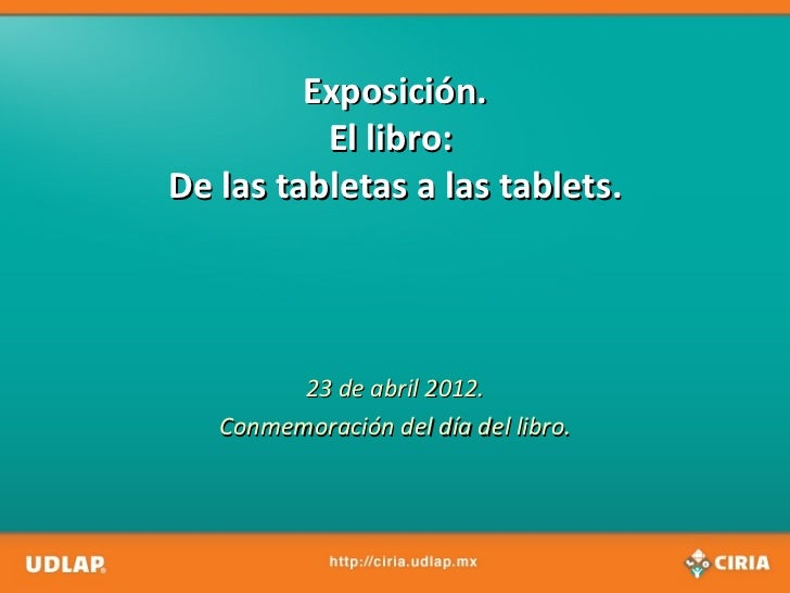 Historia De Las Tablets Slideshare | Tattoo Design Bild
