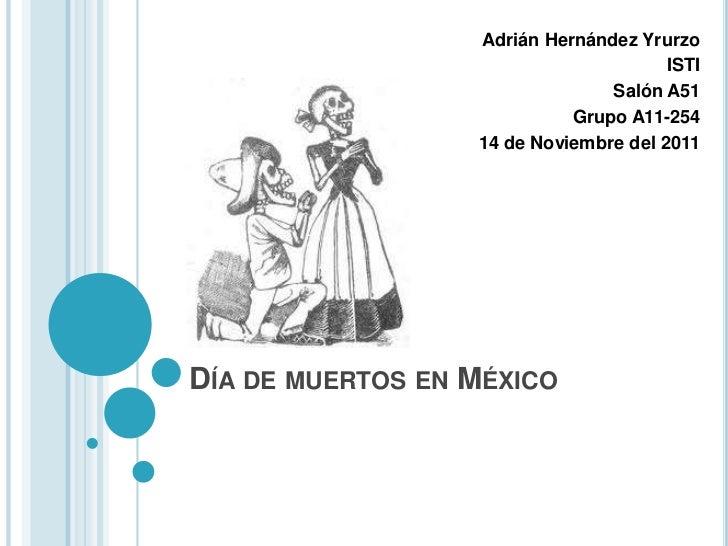 Adrián Hernández Yrurzo                                       ISTI                                Salón A51               ...