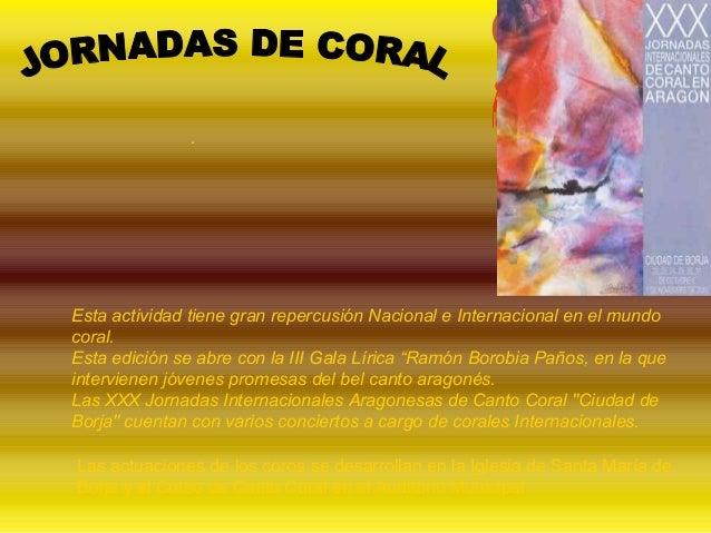 . Esta actividad tiene gran repercusión Nacional e Internacional en el mundo coral. Esta edición se abre con la III Gala L...