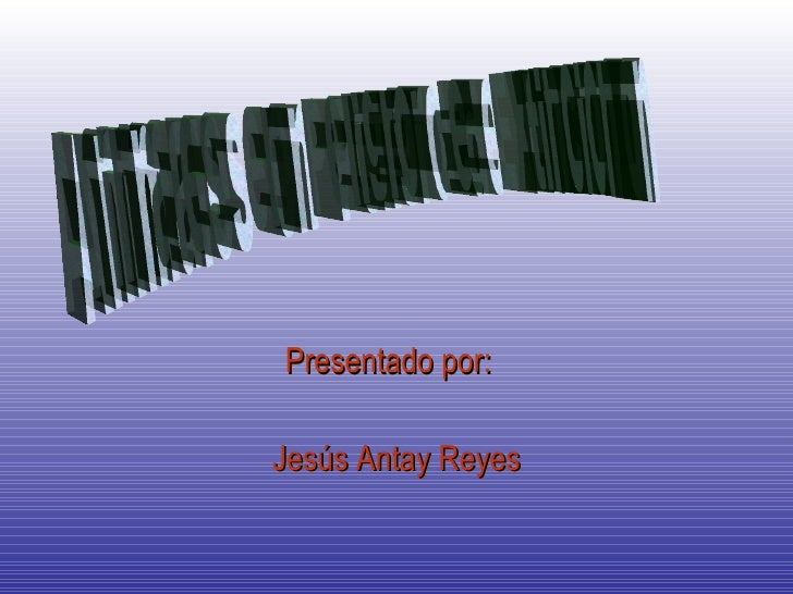 Presentado por:  Jesús Antay Reyes Animales  en  Peligro  de  Extincion