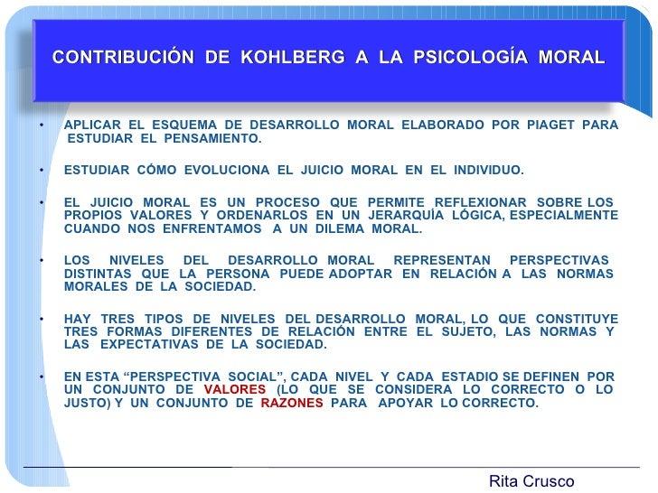 <ul><li>APLICAR  EL  ESQUEMA  DE  DESARROLLO  MORAL  ELABORADO  POR  PIAGET  PARA  ESTUDIAR  EL  PENSAMIENTO. </li></ul><u...
