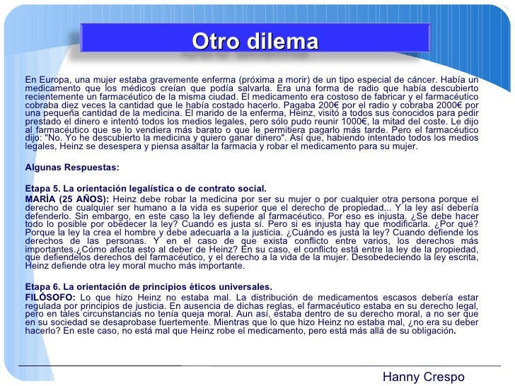 Hanny Crespo En Europa, una mujer estaba gravemente enferma (próxima a morir) de un tipo especial de cáncer. Había un medi...