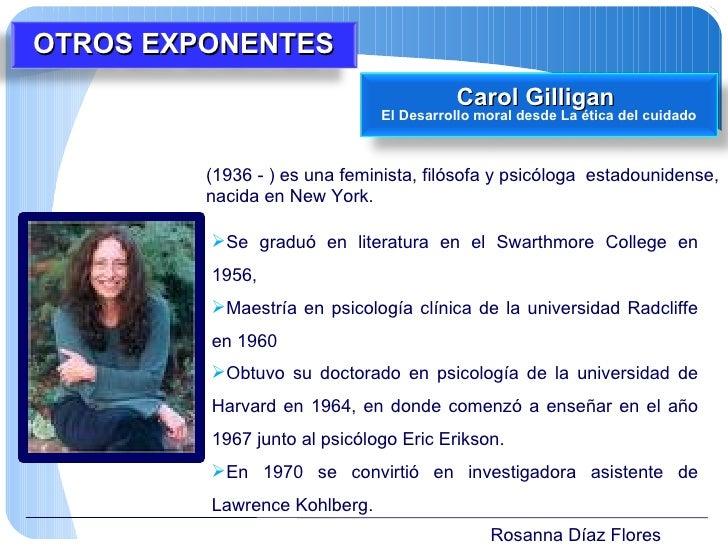 Rosanna Díaz Flores (1936 - ) es una feminista, filósofa y psicóloga  estadounidense, nacida en New York. <ul><li>Se gradu...