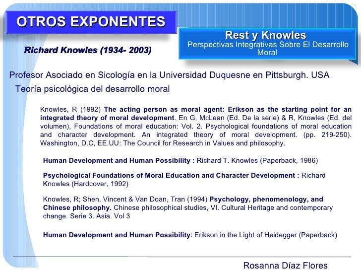 Rosanna Díaz Flores Richard Knowles (1934- 2003)  Profesor Asociado en Sicología en la Universidad Duquesne en Pittsburgh...