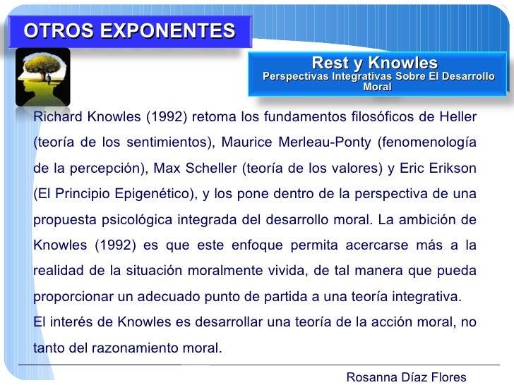 Rosanna Díaz Flores Richard Knowles (1992) retoma los fundamentos filosóficos de Heller (teoría de los sentimientos), Maur...