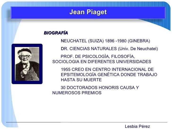 Lesbia Pérez <ul><li>BIOGRAFÍA </li></ul><ul><li>NEUCHATEL (SUIZA) 1896 -1980 (GINEBRA)  </li></ul><ul><li>DR. CIENCIAS N...
