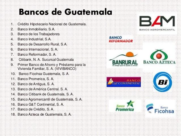 Presentacion de bancos for Creditos hipotecarios bancor