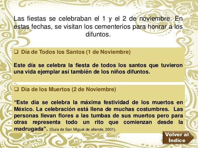 Presentacion De Dia De Muertos