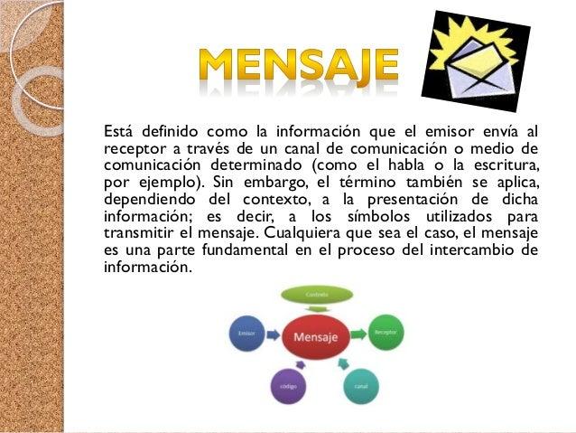 Es el agente (persona o equipo) que recibe el mensaje, señal o código (comunicación) emitido por un emisor, transmisor o e...