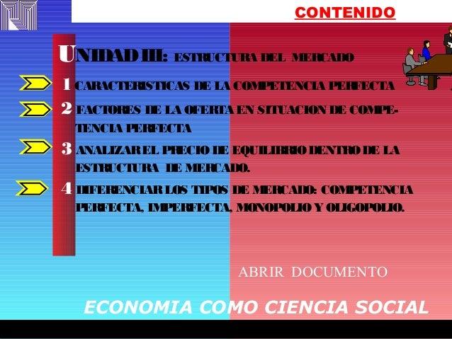 FREDY EFFFFFFFREDYFREDY EFFFFFFFREDY CONTENIDO 1CARACTERISTICAS DE LA COMPETENCIA PERFECTA 2 FACTORES DE LA OFERTA EN SITU...