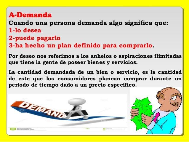 Presentacion De Economia Grupo 2 Oferta Y Demanda
