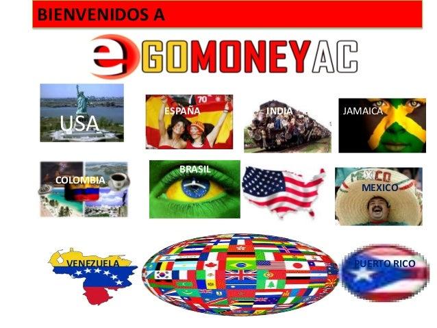 BIENVENIDOS A              ESPAÑA     INDIA   JAMAICA  USA                BRASIL COLOMBIA                         USA     ...