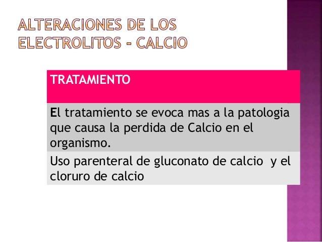 Calcio ↑ 10.4 mg/dl HIPERCALCEMIA: Hipercalcemia ↑ 10.4 mg/dl. Causas: Hiperparatiroidismo y en presencia de neoplasiasmal...