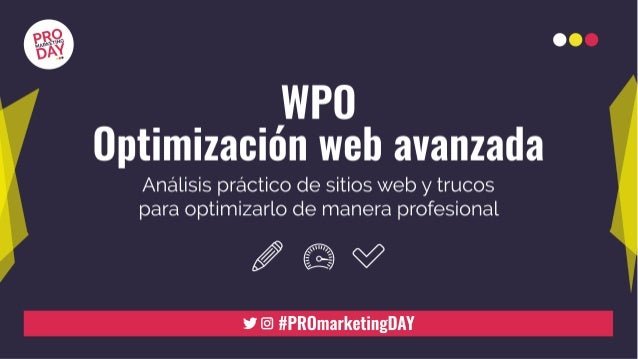 OPTIMIZACIÓN DE WEB A TRAVÉS DE PLUGINS