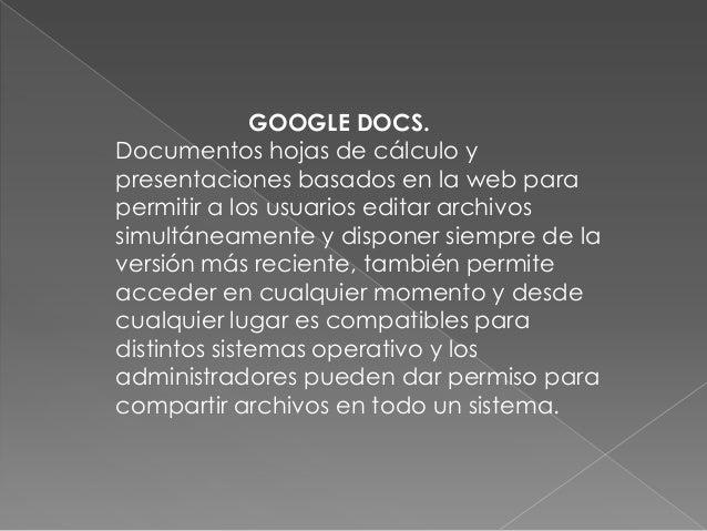 GOOGLE CLOUD CONNECTEs una herramienta que presta Googlepara documentos creados en Microsoftoffice y lo que permite es sub...