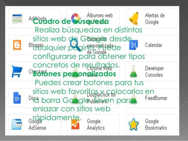 Marcadore Guarda tus páginas webfavoritas y accede a ellas encuestión de segundos. Adiferencia de los marcadorestradiciona...