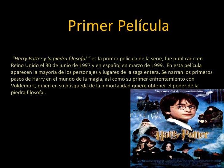 Presentacion De Harry