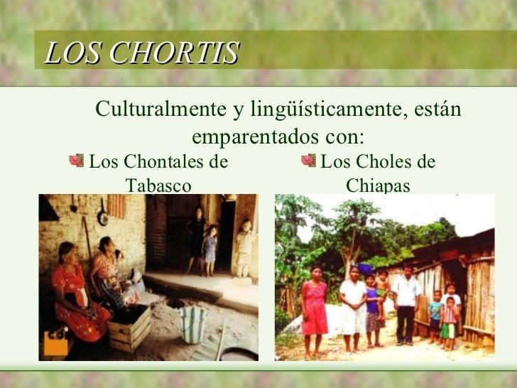 ETNIAS PECH Y CHORTIS DE HONDURAS