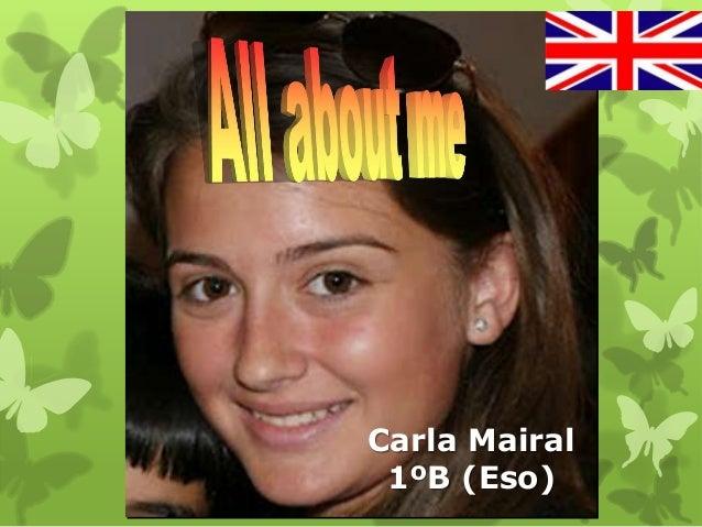 Carla Mairal 1ºB (Eso)