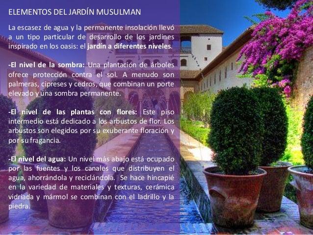 Presentacion de jardines de la india e islam jose antonio for Jardin islamico