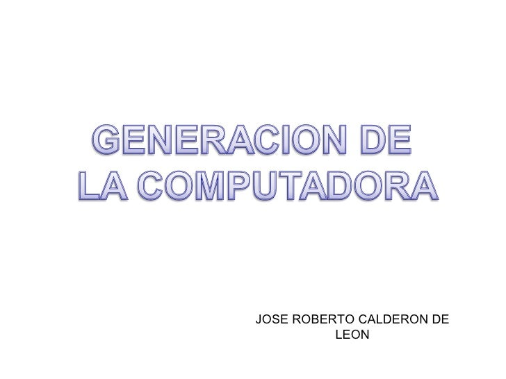 JOSE ROBERTO CALDERON DE LEON