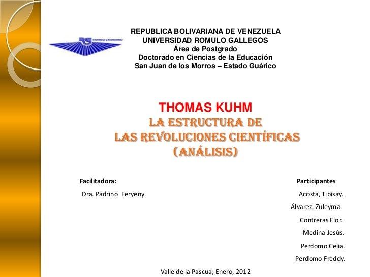 REPUBLICA BOLIVARIANA DE VENEZUELA                   UNIVERSIDAD ROMULO GALLEGOS                           Área de Postgra...