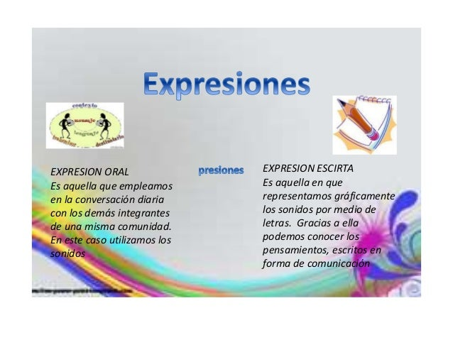 Presentacion de la expresion oral y escrita Slide 2