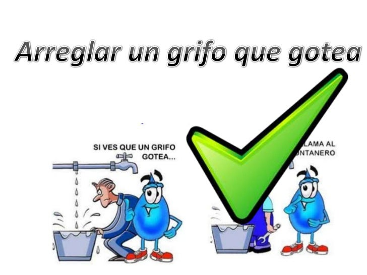 Presentacion del agua - Como arreglar un grifo que gotea ...