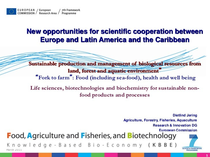 New opportunities for scientific cooperation between                Europe and Latin America and the Caribbean            ...
