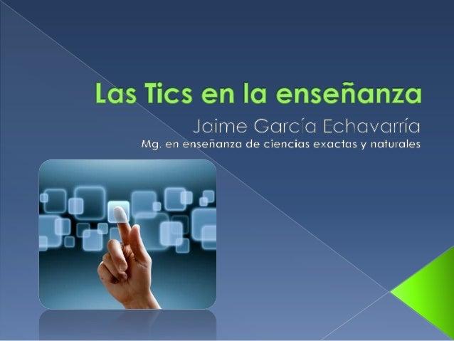 Asignatura: Las Tics En La Enseñanza Prerrequisitos: Ninguno Facultad: Ingeniería y Admón. Créditos: 4 (Cuatro) Libre Elec...