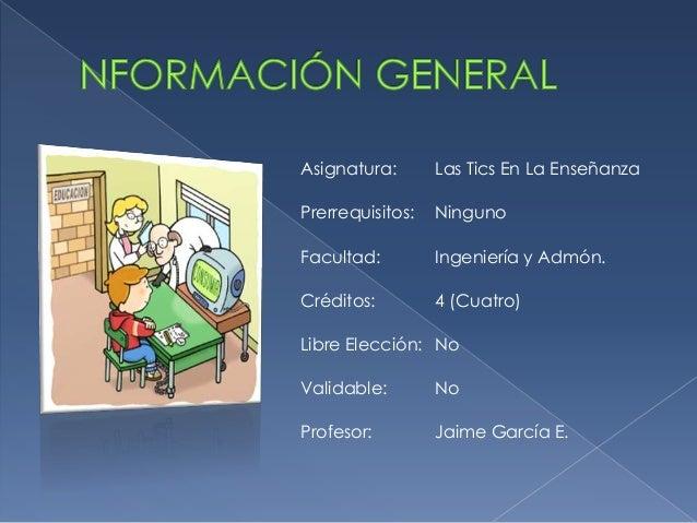 Presentacion del curso tic Slide 2