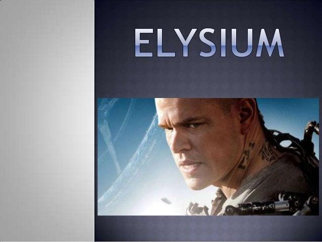 Elysium es una película estadounidense de ciencia ficción dirigida por Neill Blomkamp y protagonizada por Matt Damon, Jodi...