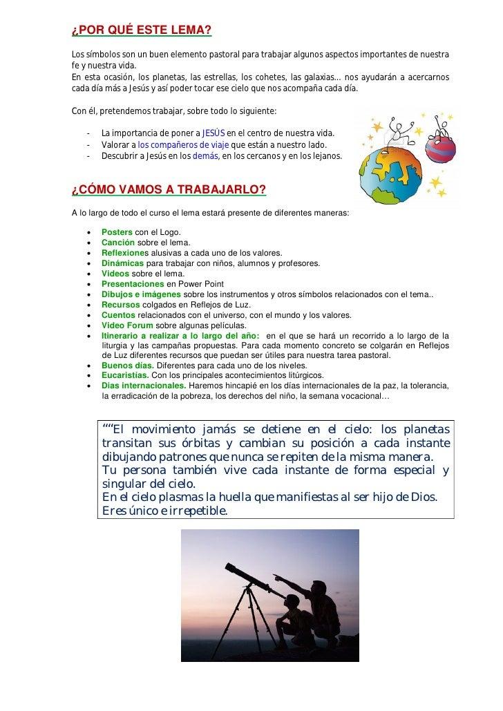 Presentacion del lema y logo 2012 13 Slide 2