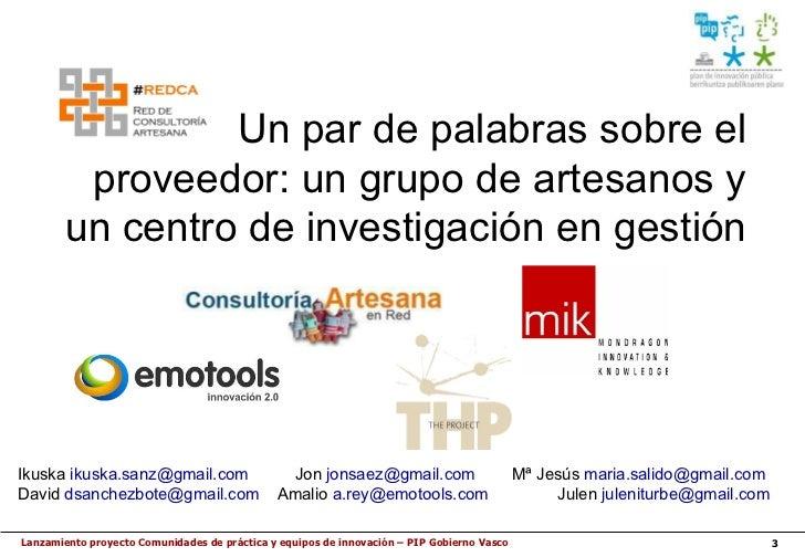 Presentacion del proyecto PIP Cops-EEII Slide 3