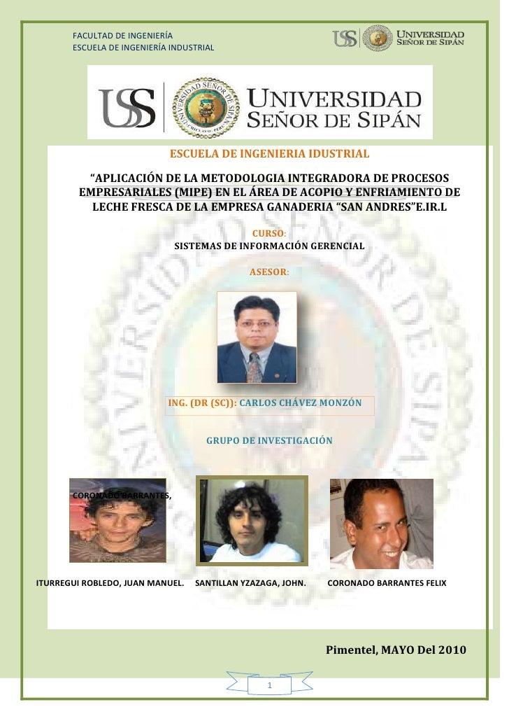 """221615-163195ESCUELA DE INGENIERIA IDUSTRIAL<br />center205105""""APLICACIÓN DE LA METODOLOGIA INTEGRADORA DE PROCESOS EMPRES..."""