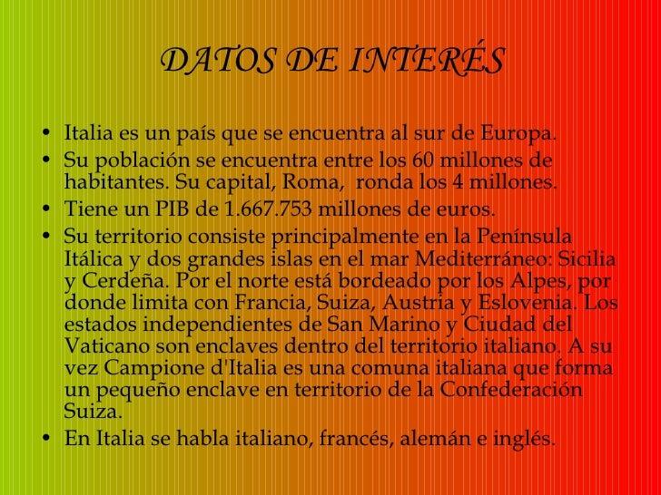 Presentacion sobre Italia de Maite Y Sara Slide 3