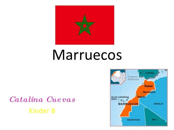 Marruecos Catalina Cuevas Kinder B