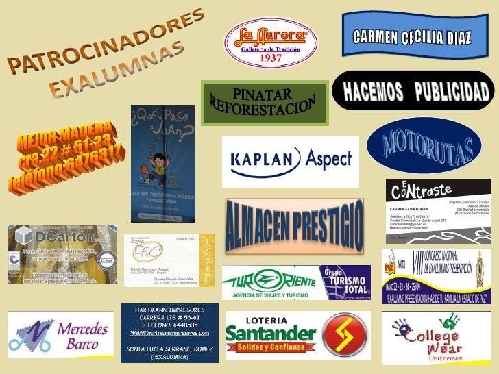 MEJOR MADERA cra.22 # 51-23 teléfono:6476317 MOTORUTAS HACEMOS  PUBLICIDAD CARMEN CECILIA DIAZ PINATAR REFORESTACION