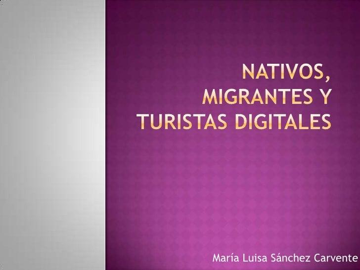 María Luisa Sánchez Carvente