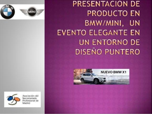 ASPM EN LA PRESENTACIÓN DE PRODUCTO EN BMW