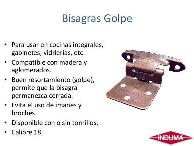 Bisagras for Como instalar una cocina integral pdf