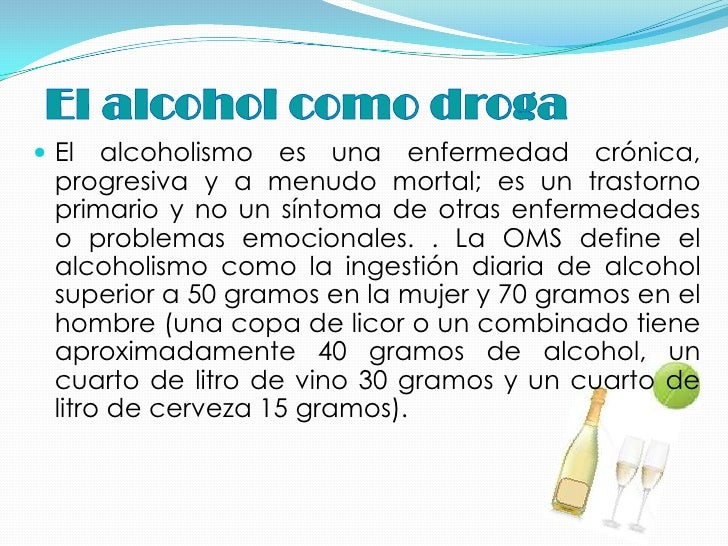 Beber por el fin de semana es el alcoholismo o no
