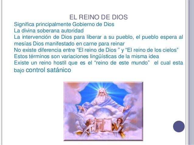 Reino de Dios, Iglesia y mundo Slide 2