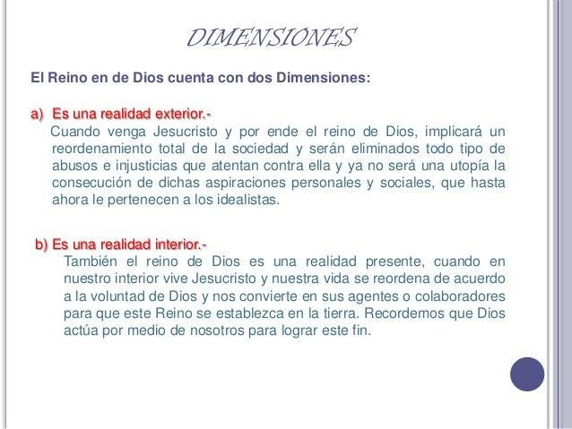 Reino de Dios, Iglesia y mundo Slide 3