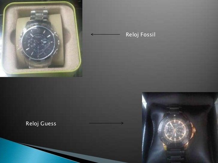 Reloj Fossil<br />Reloj Guess<br />