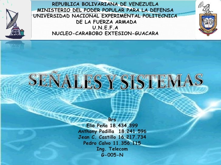 REPUBLICA BOLIVARIANA DE VENEZUELA  MINISTERIO DEL PODER POPULAR PARA LA DEFENSA UNIVERSIDAD NACIONAL EXPERIMENTAL POLITEC...