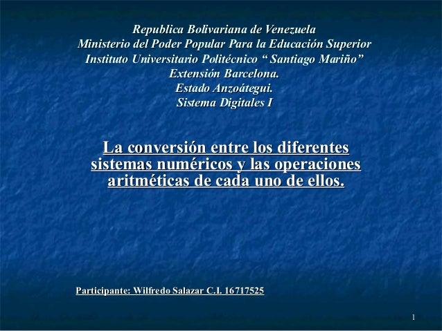 11 Republica Bolivariana de VenezuelaRepublica Bolivariana de Venezuela Ministerio del Poder Popular Para la Educación Sup...