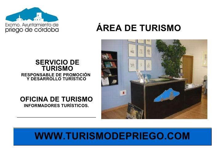 Presentacion destino turistico priego de cordoba for Oficina de turismo en cordoba