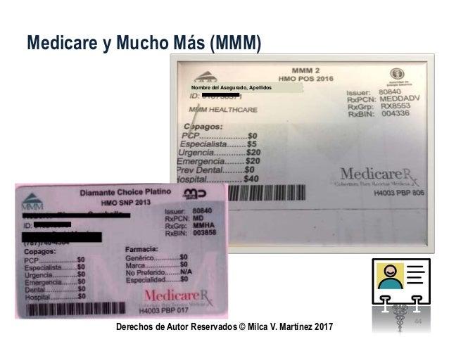 Tarjetas de Identificación de Planes Médicos 2017